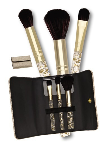 Avon Gold Makyaj Fırça Seti Renksiz